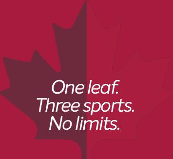 One leaf. Three sports. No limits.