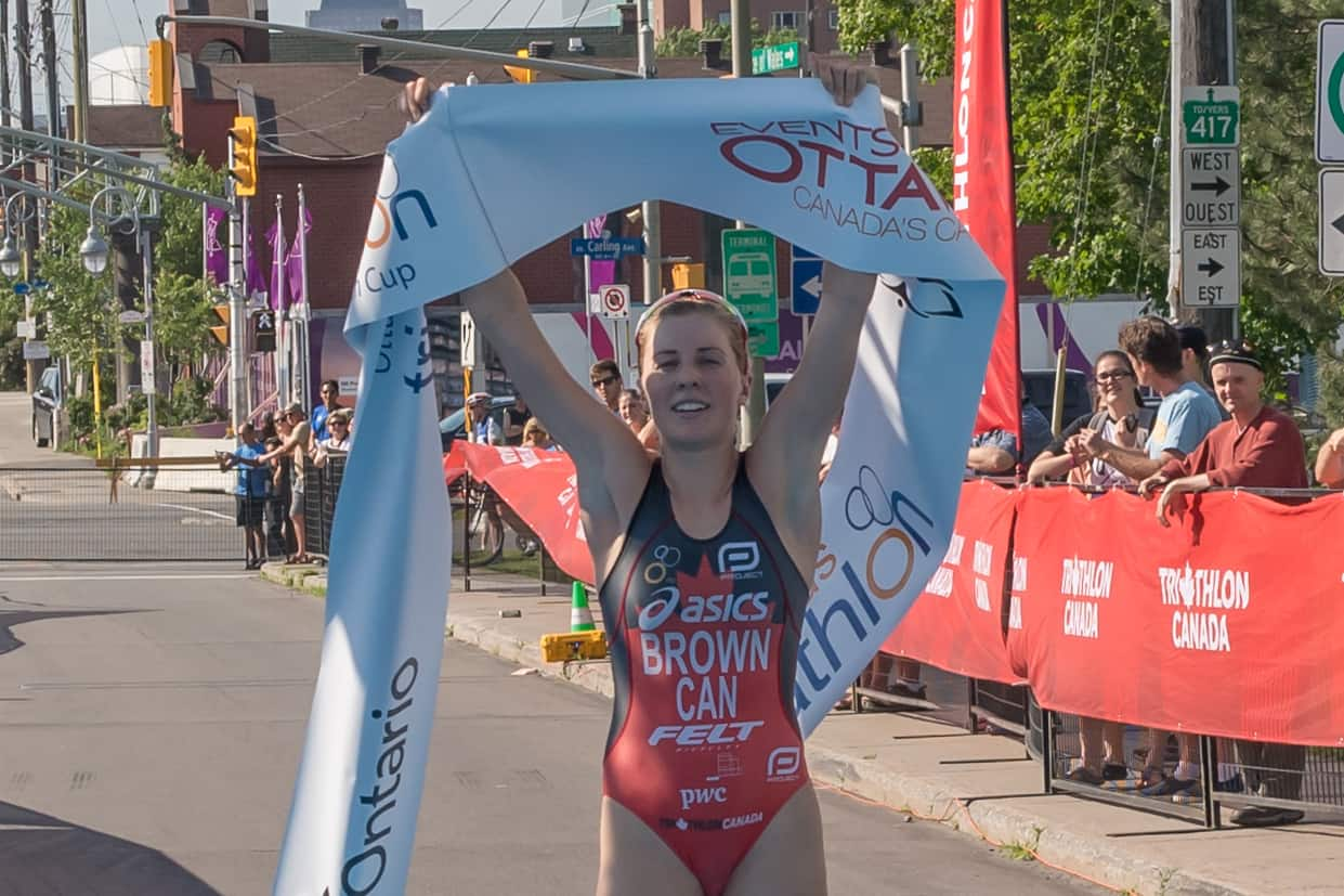 Joanna Brown – Triathlon Bronze at Commonwealth Games 2018